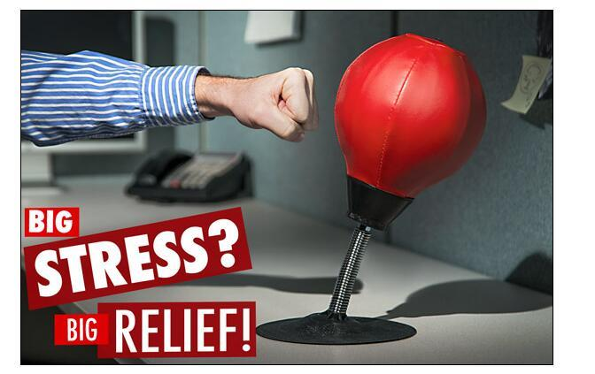 Acheter gros stress reliever table mur pugilism ball bureau sac de