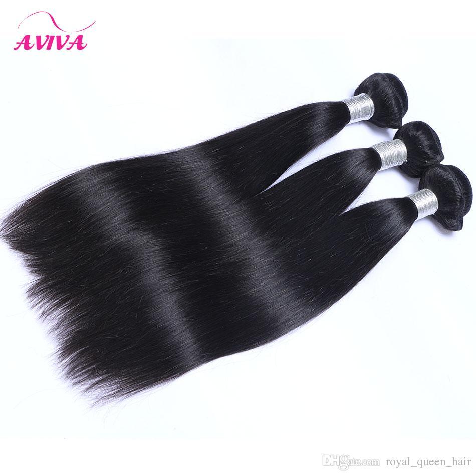 Péruvien Indien Malaisien Cambodgien Brésilien Vierge Cheveux Weave Bundles Droite Vague de Corps Lâche Eau Vague Profonde Bouclée Extensions de Cheveux