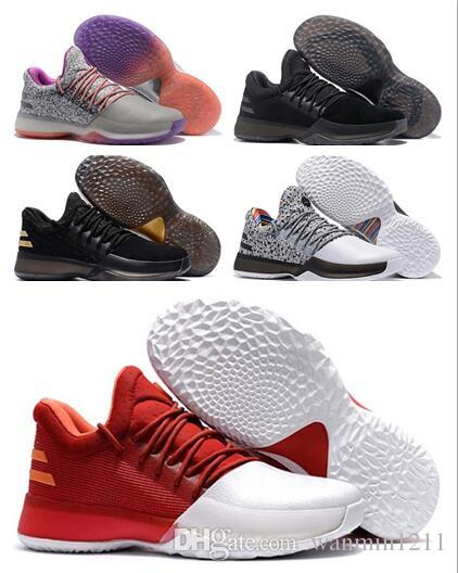official photos 41277 ec1b2 Wholesale New Hot Harden Vol. 1 Bhm Black History Month Mens Basketball  Shoes Fashion James .
