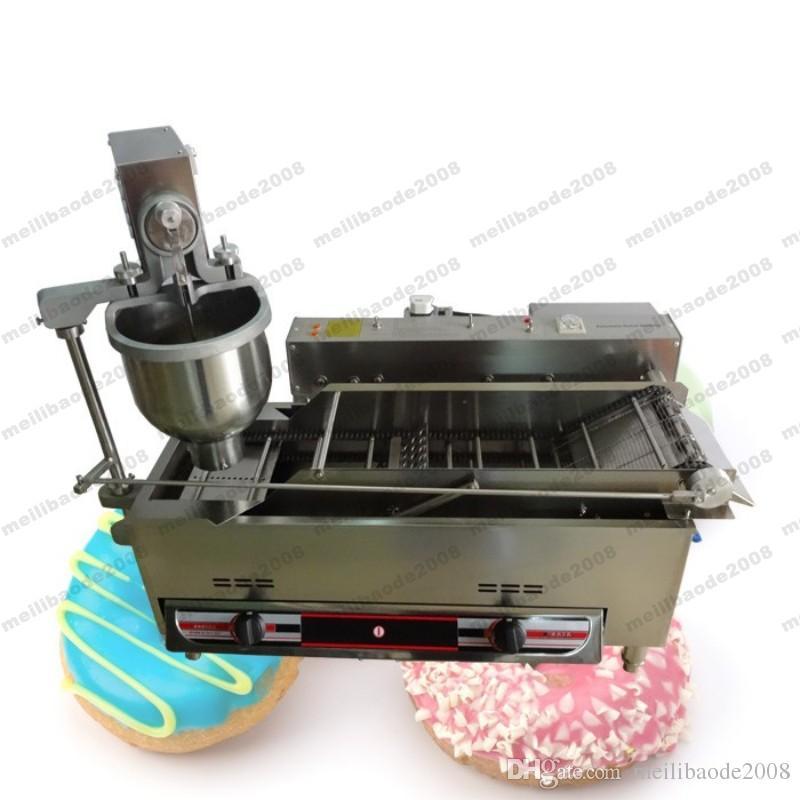 NEUE Besserer Geschmack Vollautomatische Gas Mini Donut Maker 110/220 V Qualität 3 Formen Donut, Der Maschine / H Mit CE Beweis MYY
