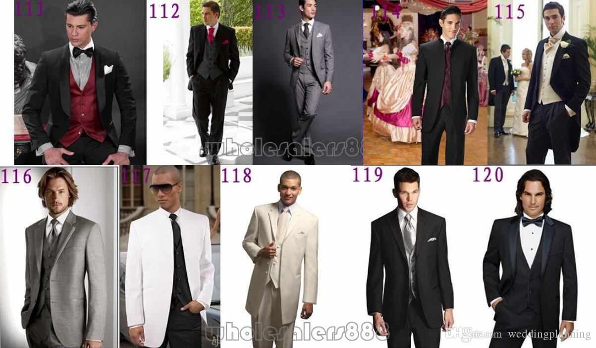 New Boys Suits Tuxedos For Weddings Boy's Formal Occasion Little Men Suits Children Kids Wedding Party Boy's Formal Wear Jacket+pants