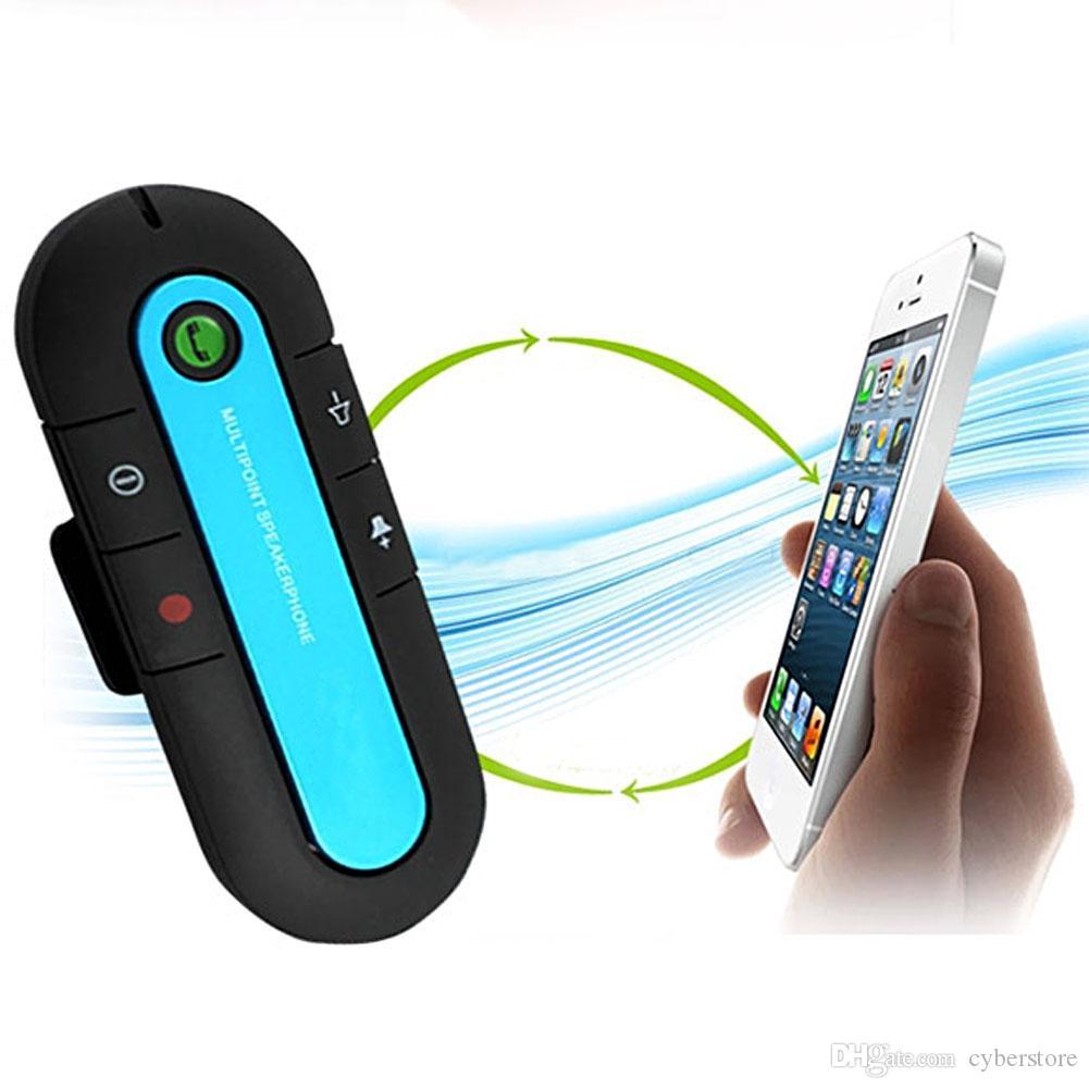 Neue Bluetooth V3.0 drahtlose Lautsprecher-Telefon-dünne magnetische Hände geben im Auto-Installationssatz-Visier-Klipp frei Qualitäts-Bluetooth-Auto-Installationssatz 3 Farben