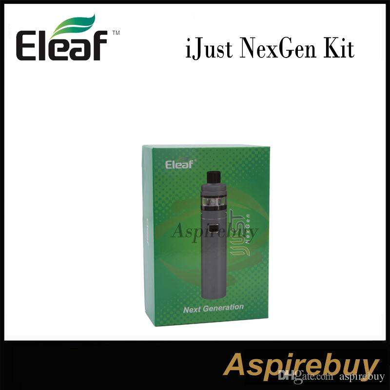 Eleaf iJust NexGen Kit Next Generation Built-in 3000mAh Capacity Battery and 2.0ml Tank Simple One Button Design 50W Output 100% Original