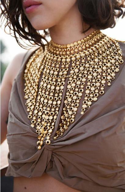 2016 Femme Gland Boho Mariage Choker Collier Chunky Bijoux Mode Nigérian Maxi Femmes Grand Pendentif Africain Perles 9IeW2YbEHD