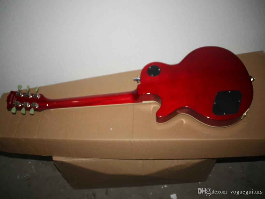 Envío gratis nueva llegada amarillo Custom Electric Guitar Wholesale guitar