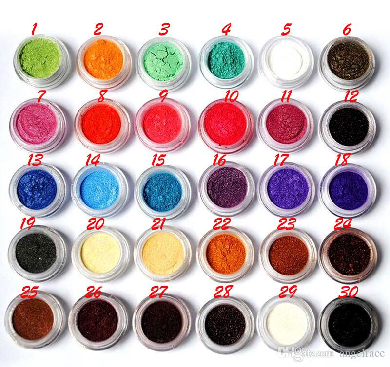 Shimmer Eye Shadow Makeup Powder Naked Pigment Mineral Shimmer Matt Shadows Make Up Highlighters Brightens Brands Flash Eyeshadow
