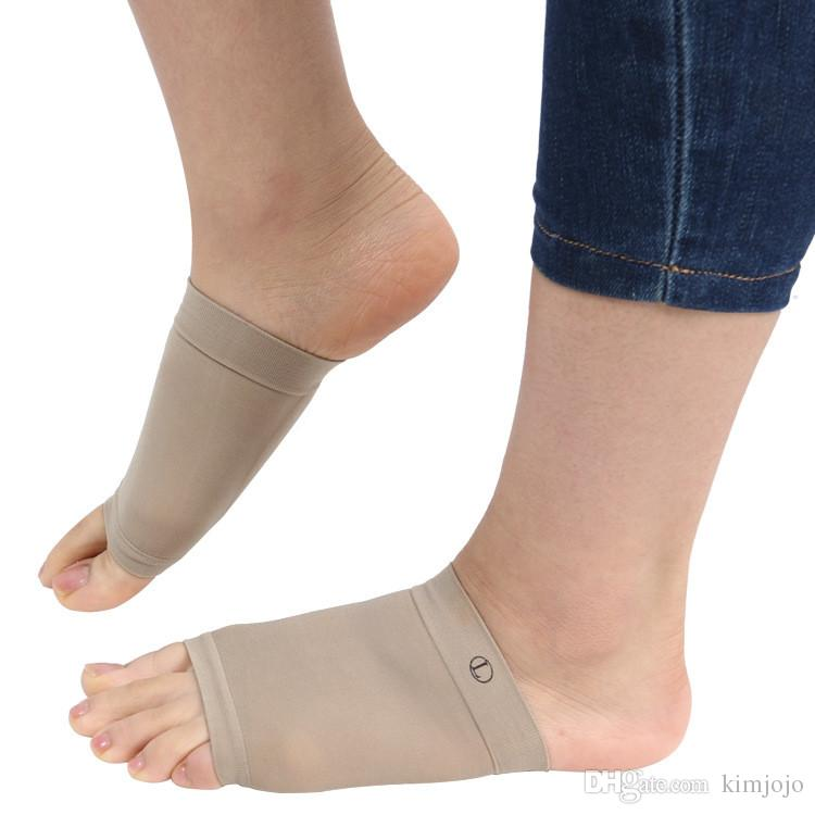 2pcs Silicone Arch Support Orthotic Plantar Fasciitis Cushion Pad Flatfoot Orthotic Insert Soft Corrector Bandage Foot Care Tool High Safety Skin Care Tools