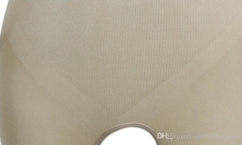 OPP-väska Kvinnor Naturliga Bamboo Slimming Charcoal Suit Underkläder Beige / Svart
