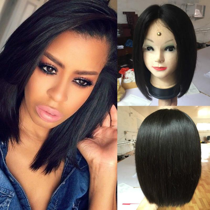 Wholesale Bob Style Human Hair Full Lace Wig High Quality 8 14 Inch Bob Wig  Short Bob Wig In Stock Lace Wigs For Black Women Wig Hair From  Lovestoryhair ce1f0018ed