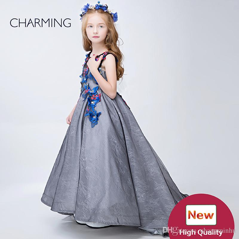 Ball Gown Pageant Dresses High Quality Girls Maxi Dress Designer ...
