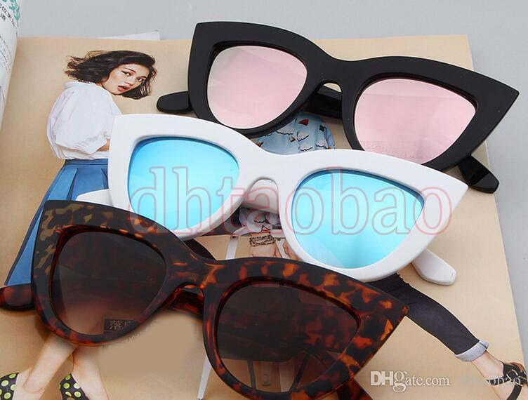 919583010f Moq New Summer Women Fashion Exquisite Vintage Cat Eye Colorful Sunglasses  Outdoor Driving Beach UV400 Glasses Fashion Sunglasses Cat Eye Online with  ...