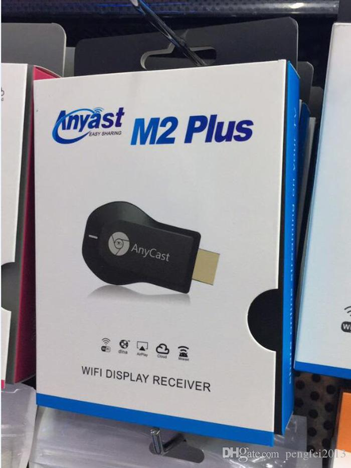 Anycast M2 Plus DLNA Display WiFi Airplay Miracast Dongle HDMI Multidisplay Ricevitore 1080P AirMirror Mini Android TV Stick
