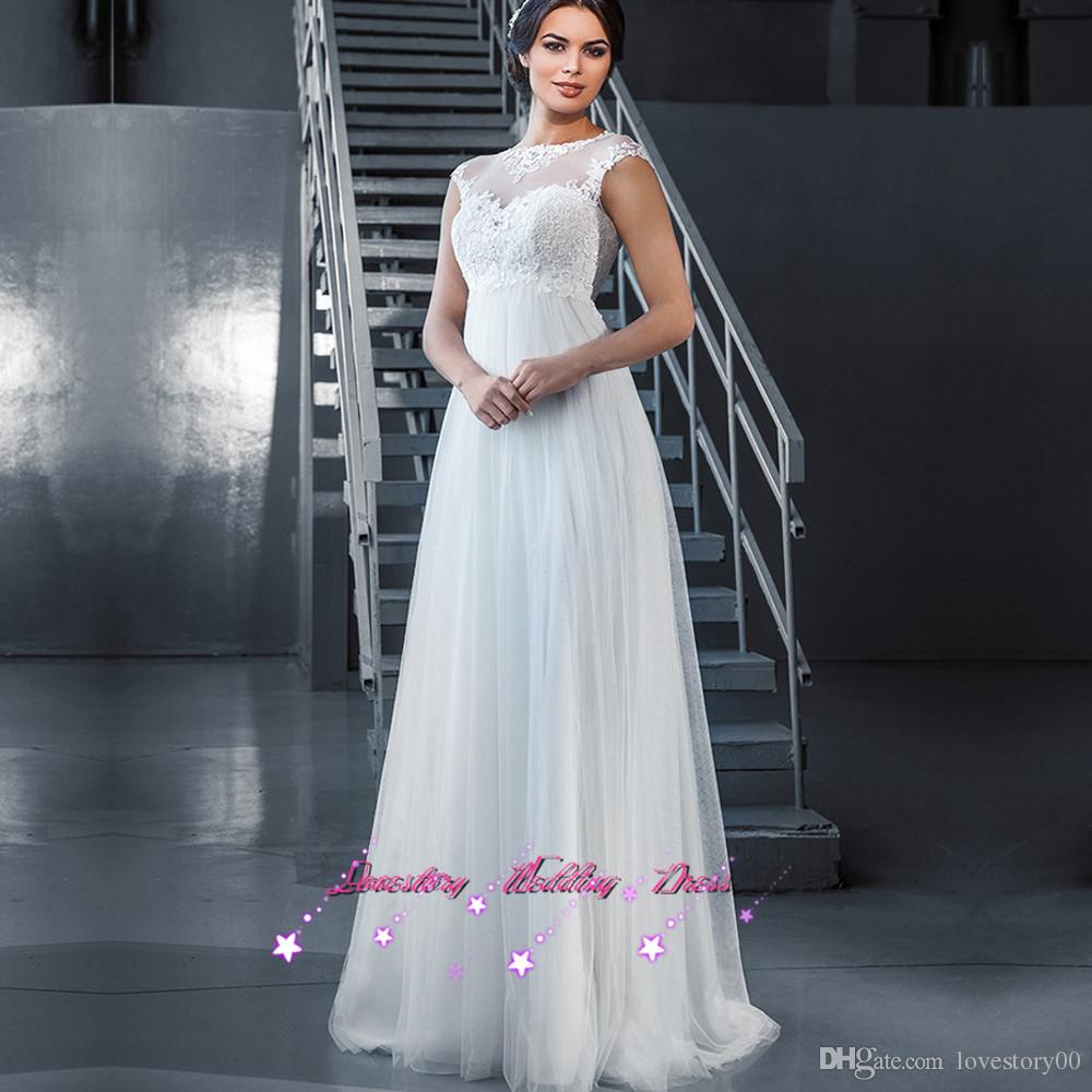 Discount 2017 maternity wedding dresses for pregnant women lace see larger image ombrellifo Image collections