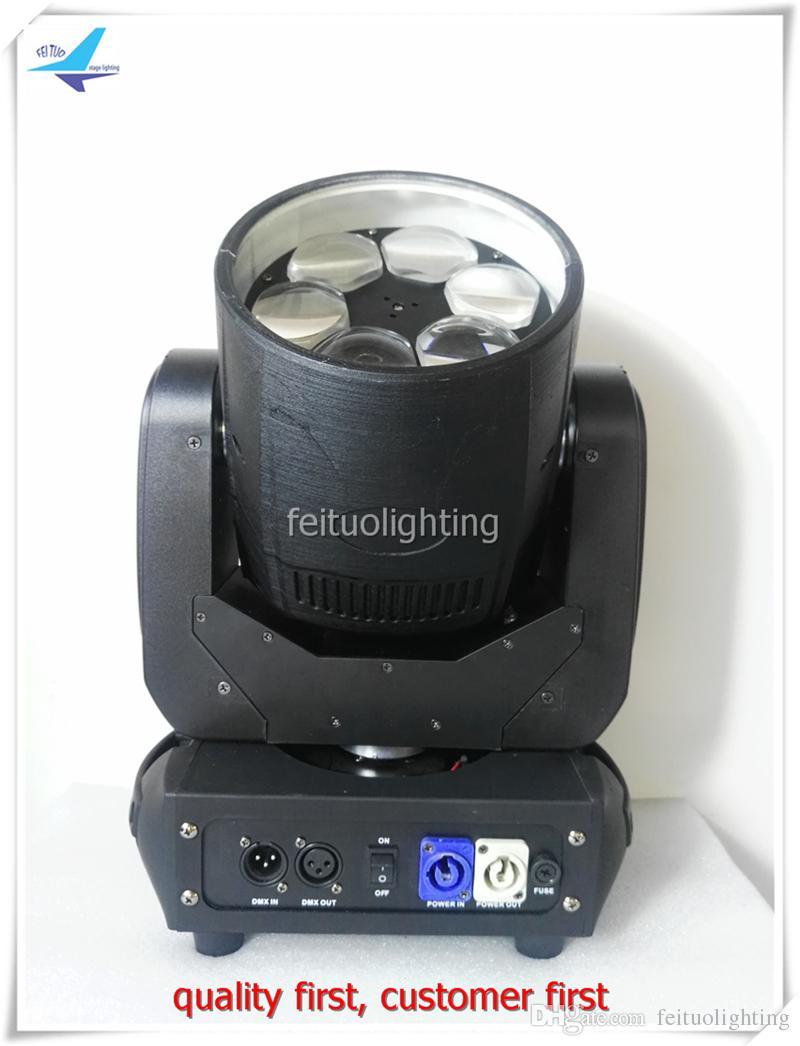 2 xlot mini bee eye led licht mini moving head manuelle 6 * 40 watt high power 4in1 rgbw moving head led