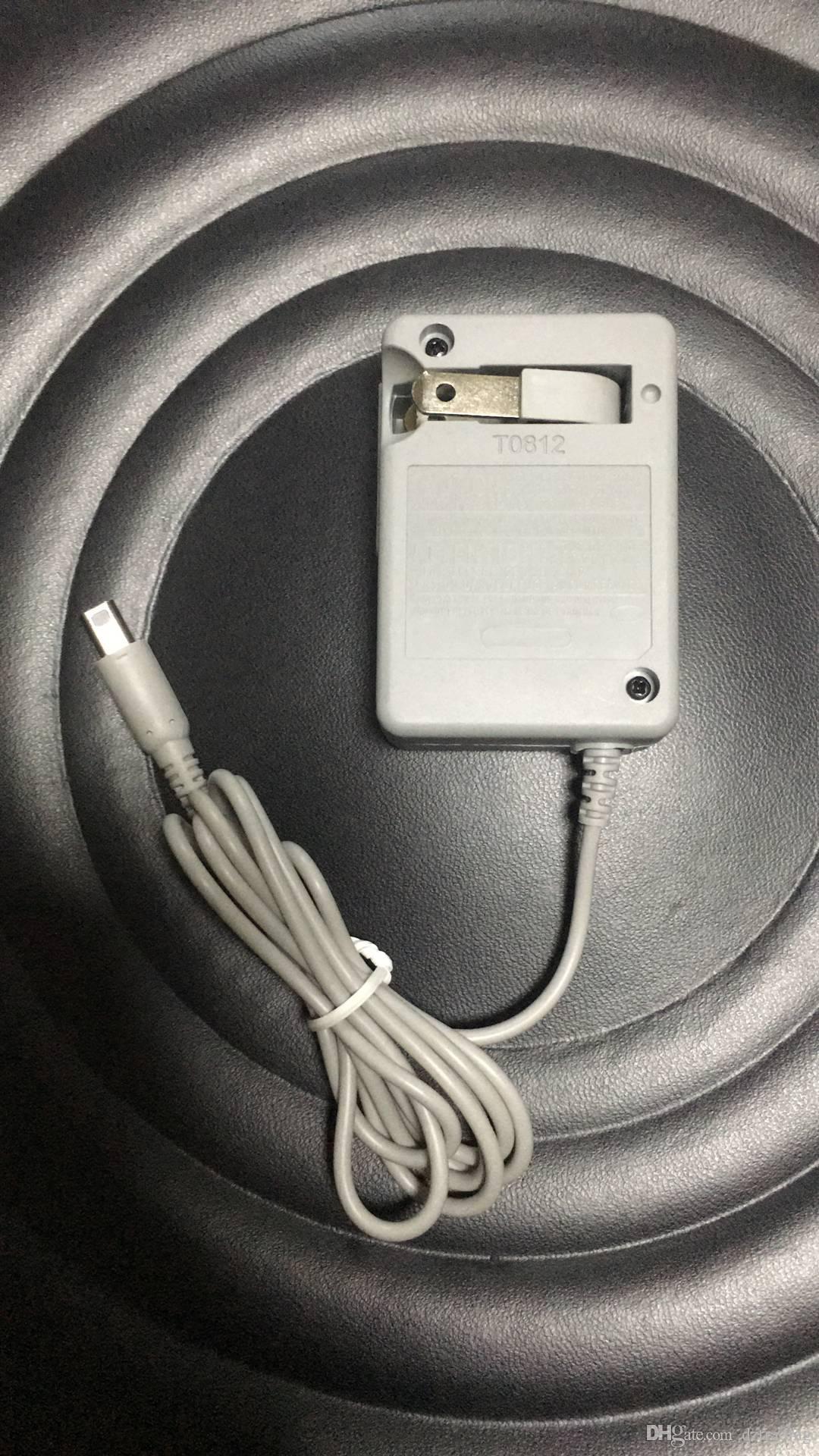 Adaptador de Carregador De Energia AC Casa Parede Carregador de Bateria de Viagem Carregador de Cabo De Alimentação Para Nintendo 3DSDL NDSi 3DSXL LL Dsi