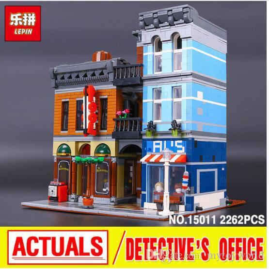 Lepin 15011 Series The Detective'S Office Set Avengers Set Assemble  Educational Building Blocks Toys 10197 Toy Building Blocks Plastic First  Building Blocks ...