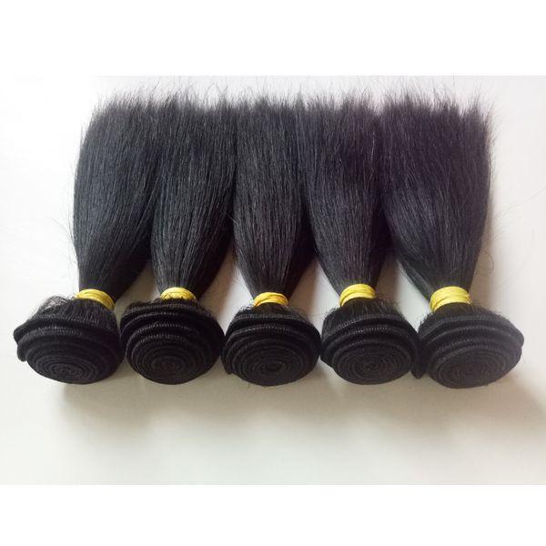 Brasilianisches reines Haareinschlagfaden Heißer verkaufender neuer kurzer Bob Art 8-18inch Wholesale weiches und glattes mongolisches indisches Menschenhaar spinnt auf Lager