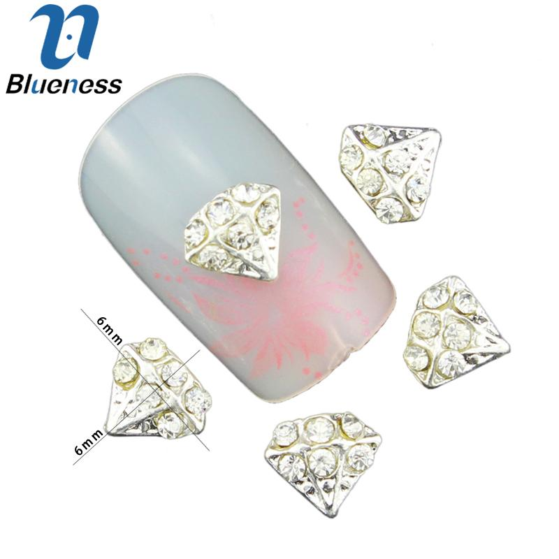 Wholesale 3d Diamond Bows Pearl Nail Art Decorations To Nail ...
