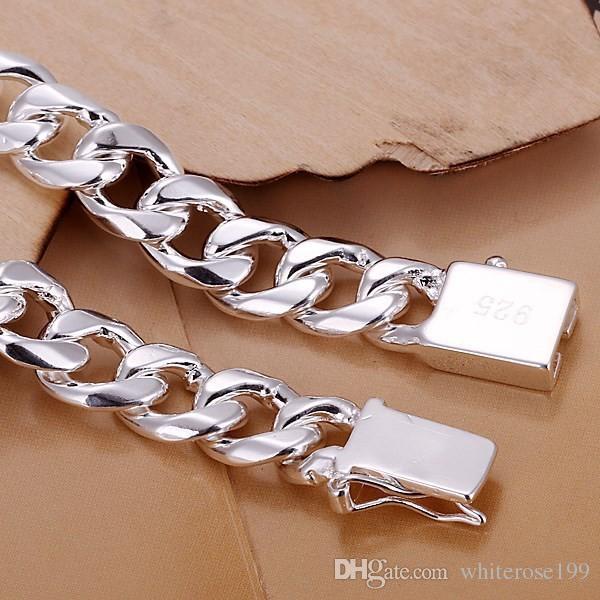メンズ20,20 CM60cm 10mm 925スターリングシルバーネックレス115gソリッドスネークチェーンN011ギフトパウチ送料無料