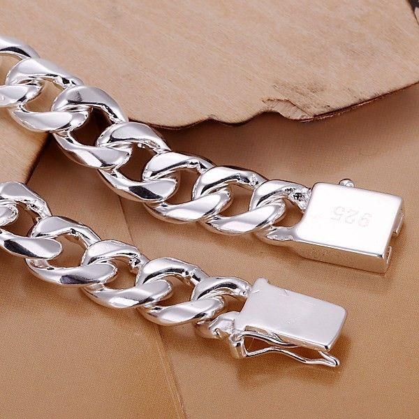 Herr20, 24''50 cm60cm 10mm 925 Sterling Silver Necklace 115g Solid Snake Chain N011 Presentpåsar Gratis frakt