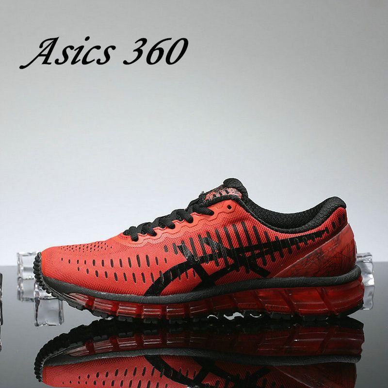 Compre Melhor Qualidade Asics GEL QUANTUM 360 T5J1N 0990 Mens Running Shoes  Prata Vermelho Das Mulheres Dos Homens Sapatos De Grife Sneaker Esporte EUR  40 ... 609282b0448e3