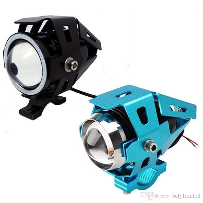 Hohe qualität 20 watt Motorrad Scheinwerfer 2000lm IP65 6000 Karat Scheinwerfer U7 LED Wasserdichte Motorrad Scheinwerfer 2016