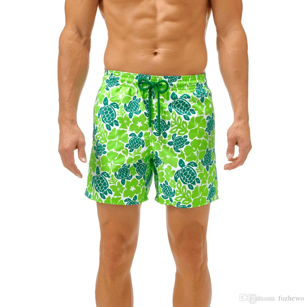 7d4b1687be 2019 Top Quality New Arrive Mens Shorts Surf Board Shorts Summer Sport  Beach Homme Bermuda Short Pants Quick Dry Silver Starfish Boardshorts From  Fozhewo, ...