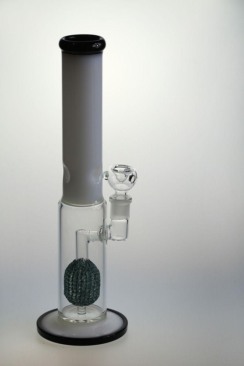 Pipa da Pipa da Pipa in Vetro Spessore da 15 pollici Pipa da Pipa Pipa da Pipa in Vetro Nero e Giada 18.8mm
