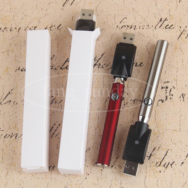 LO Wax Oil E Cig Vape Battery 350mah Preheating Variable Voltage Vapor Pen for 510 Pyrex Glass Ceramic Wickless Cartridge Vaporizer
