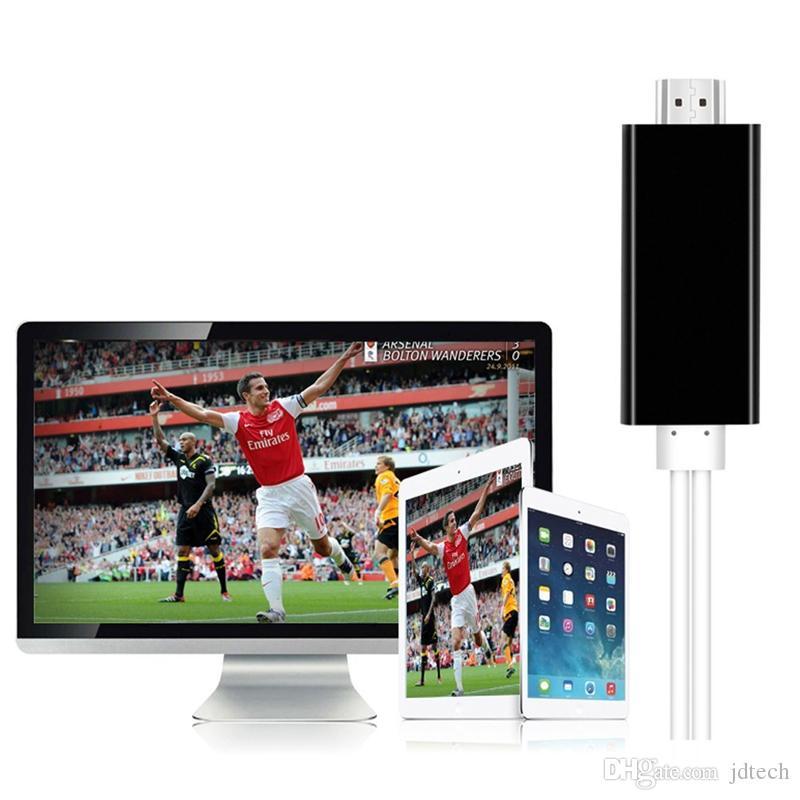 3 in 1 HDTV Kabel MHL zu HDMI Kabel 1080 P HDTV Kabel Adapter iPhone HDMI / Samsung HDTV / Typ C HDMI Kabel mit Kleinpaket Freies DHL
