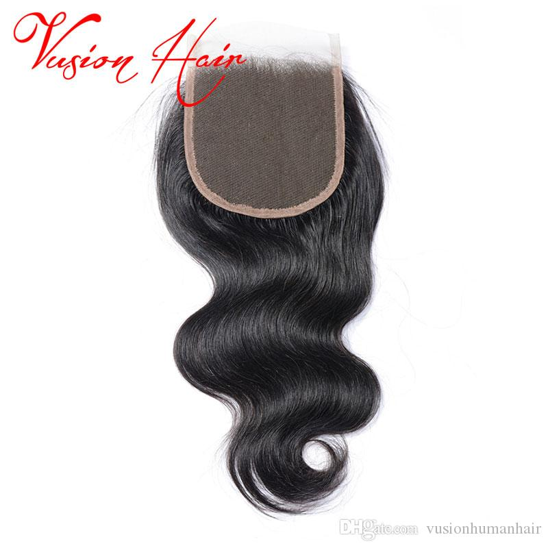 Body Wave Human Hair Weave With Closure Unprocessed Double Drawn Weaves Wet Wavy Human Hair Natural Black Hair Bundles For Wholesale