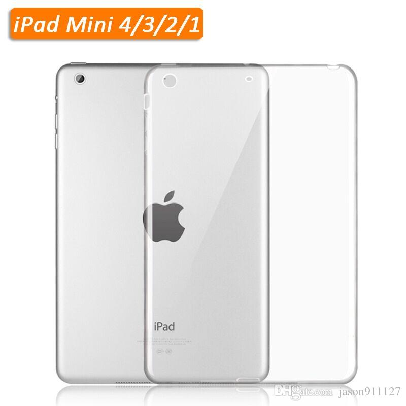 Cases, Covers, Keyboard Folios Crystal Case For Apple Ipad Mini 4 Clear Cover Hard Case Transparent Protective Aesthetic Appearance