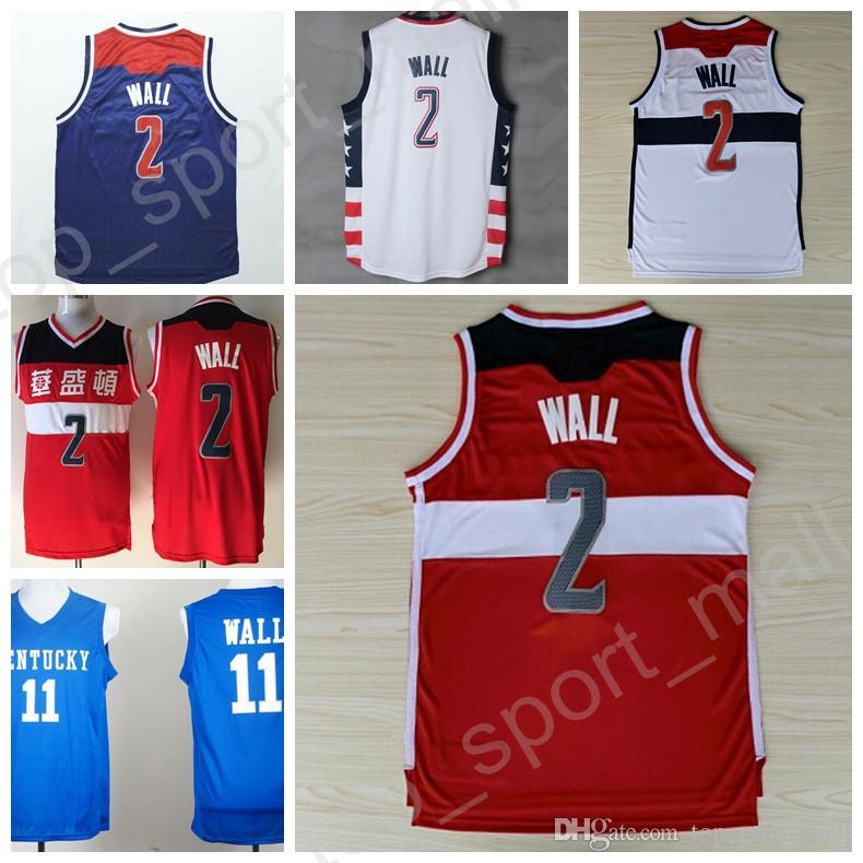 buy popular dfd51 b1ea2 2 john wall jersey for sale