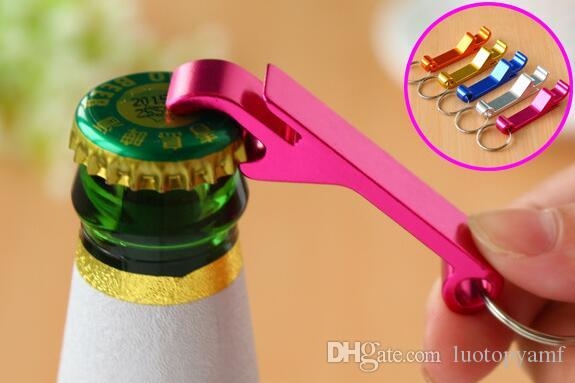 أعلى qualityمفتاح سلسلة زجاجة بيرة فتاحة صغيرة المشروبات حلقة مخلب بار الجيب أداة