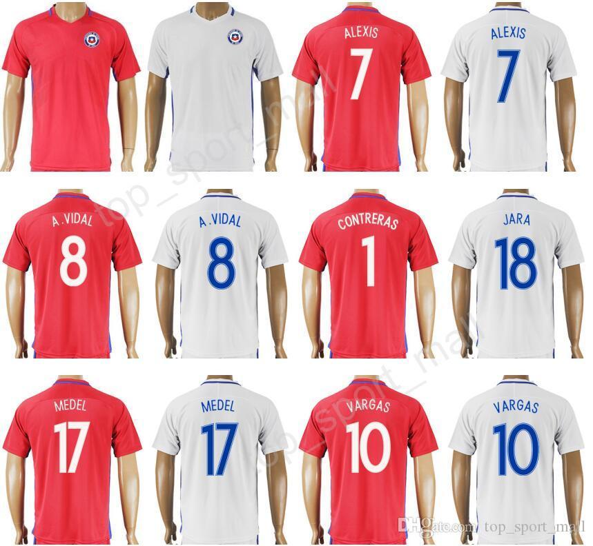 ... get best 2017 chile jersey 2018 national team custom 10 jorge valdivia  14 matias fernandez 1 5122b3417