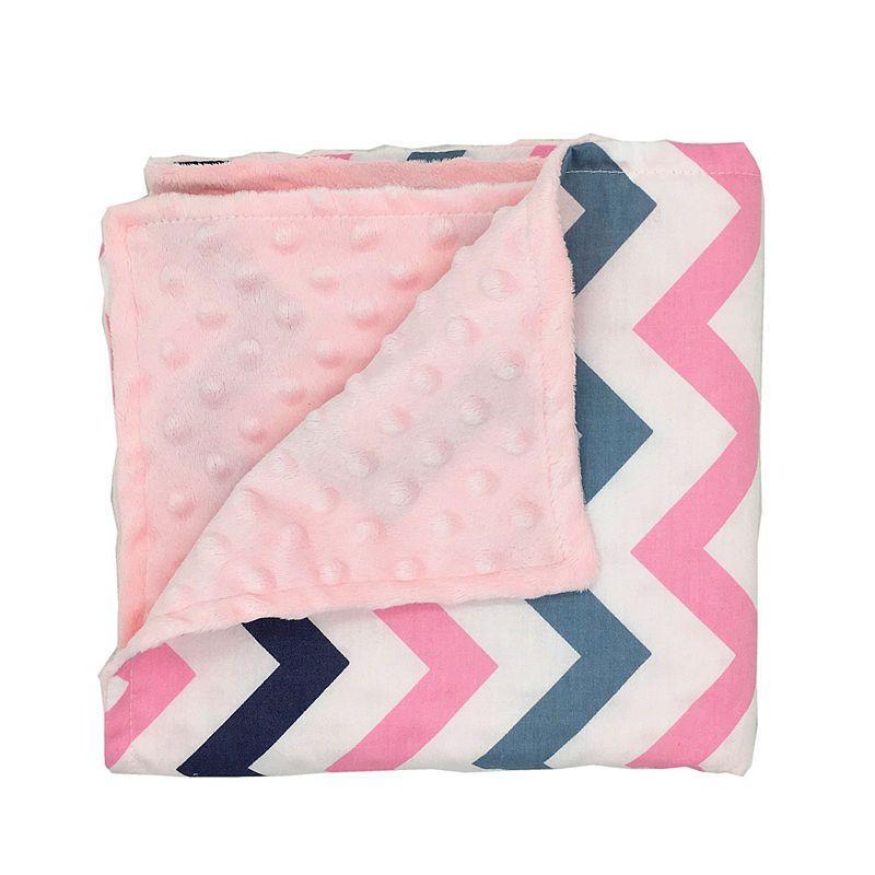 Lovely Infant Toddler Blankets Shower Gift Baby Cotton Swadding Knitting Minky Blanket Warm Cotton Blanket Bath Hot Sales