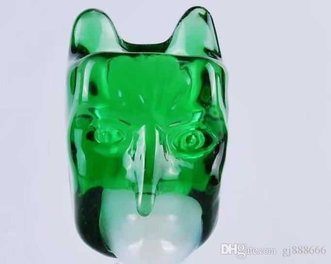 Long nose bubble glass bongs accessories , Glass Smoking Pipes colorful mini multi-colors Hand Pipes Best Spoon glas