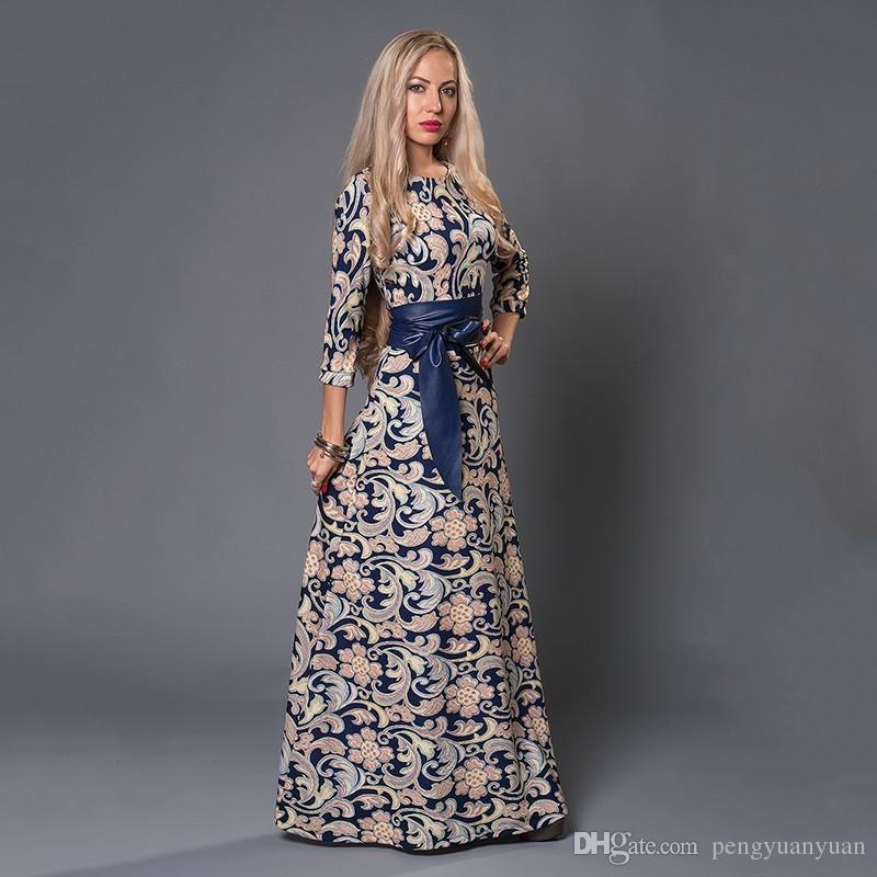 Vestidos elegantes largos venta