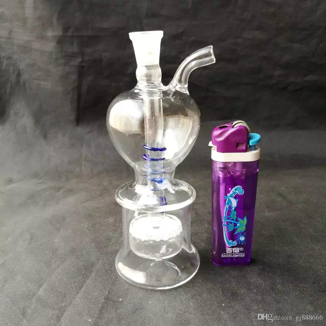 Apple dish wire hookah glass bongs accessories  , Colorful Pipe Smoking Curved Glass Pipes Oil Burner Pipes Water Pipes Dab Rig Glass Bongs