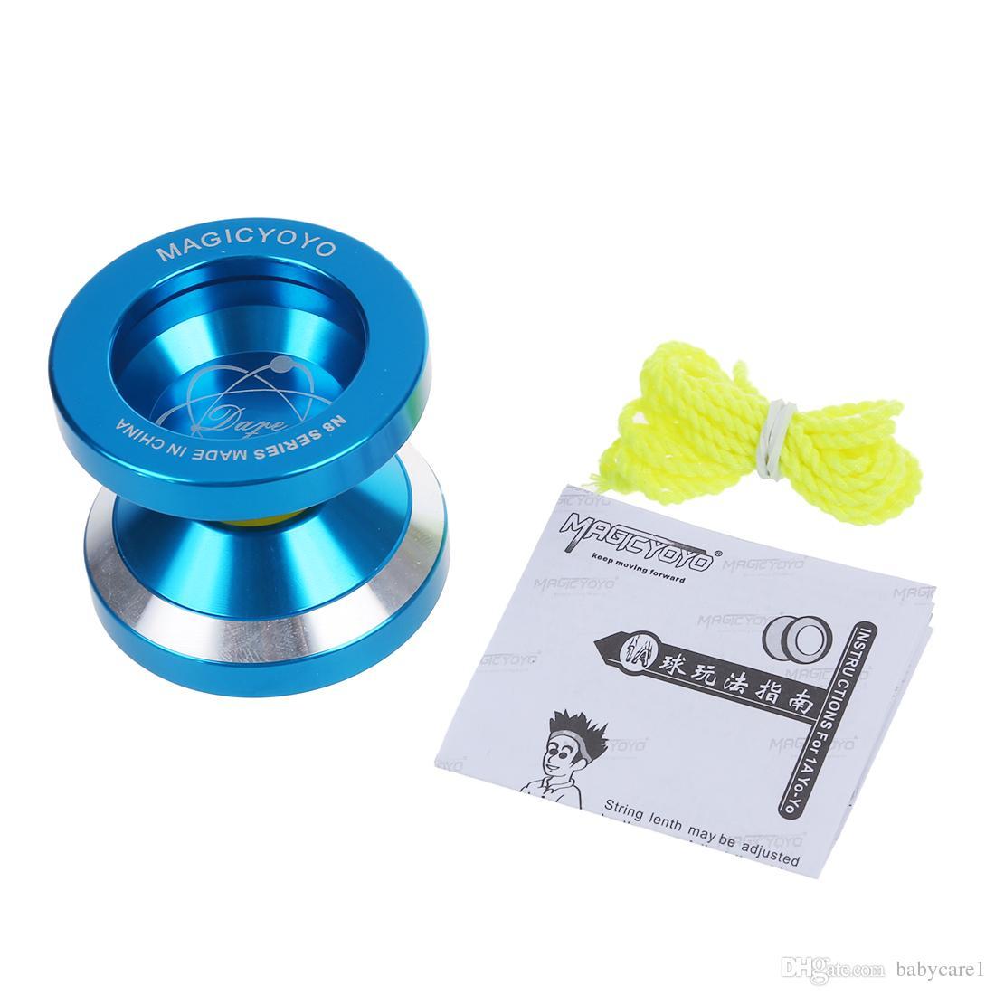 Yoyo N8 in alluminio professionale Yo Yo - blu