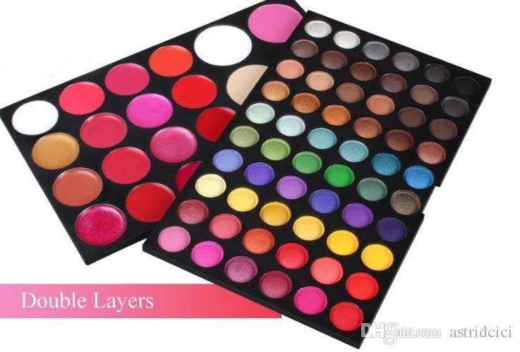 82 Renkler Göz Farı Ruj Allık Kapatıcı Şekillendirici Makyaj Paleti Uzun Ömürlü Muctifunction Makyaj Paleti Profesyonel Kozmetik Eyesh