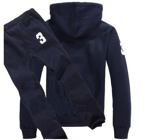 Sweatshirts Hommes Polo Survêtements Hiver Jogging Sportsuits Mode Course Sportswear Big Horse Hoodies Pantalons Manteaux Pantalons Vestes S-XXL