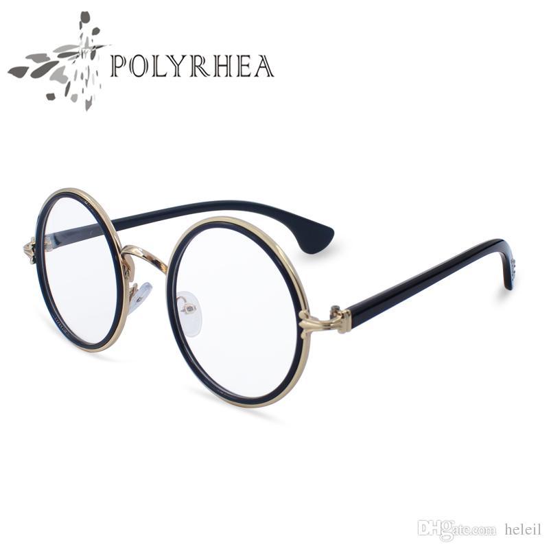 Großhandel Mode Luxus Optische Brillen Damen Runde Weinlese ...