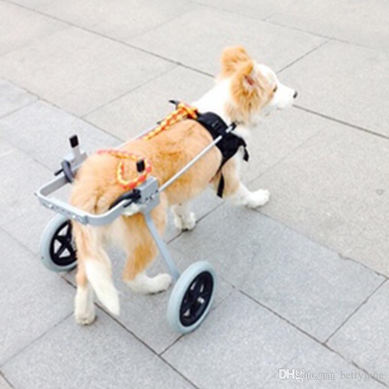 2018 S Pet Wheelchair Dog Car Zimmer Frame Lightweight Walking Frame ...