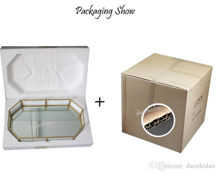 Cosmetic table storage box jewelry necklace makeup display casket organizer storage ring pendant lipstick dry flowers display