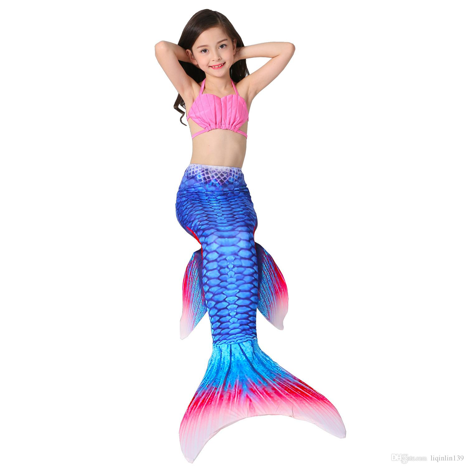adult child mermaid tail costume kids girls women mermaid tails with mono fin fairy cosplay swimwear fancy dress costumes for groups of 5 halloween themed - Mermaid Halloween Costume For Kids