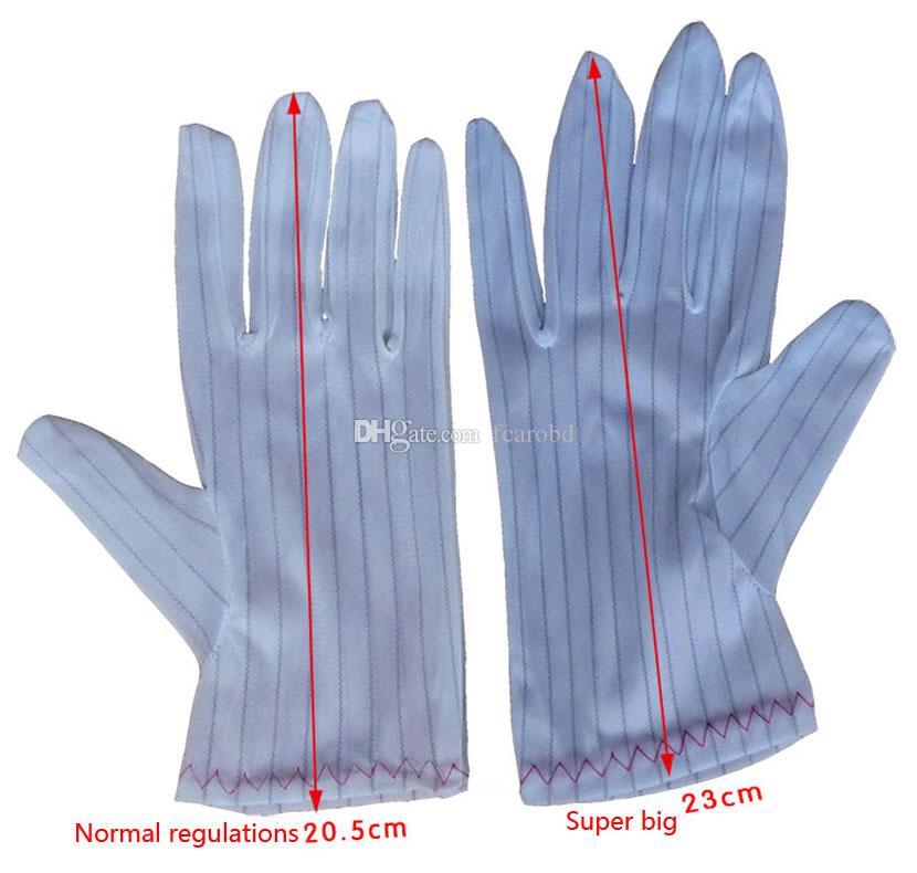Alta Calidad Buena Elasticidad 10 Pares Poliéster Transpirable Antideslizante Antideslizante Guantes de Protección Laboral Venta Caliente