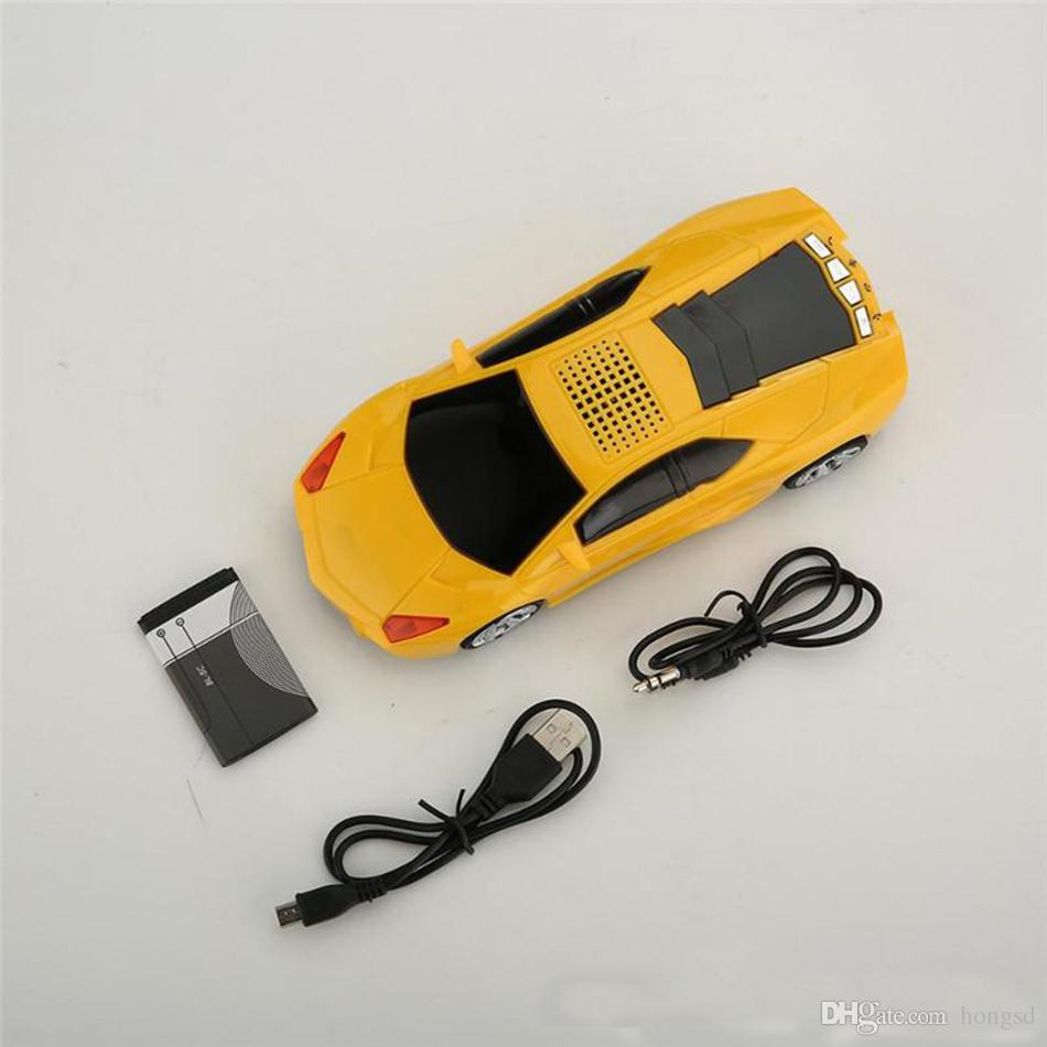 Wholesale Black Bluetooth Vintage Car Radio Mp3 From China: Discount Mini Car Shape Bluetooth Speakers Portable Stereo