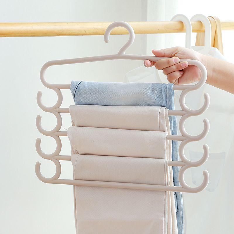Trousers Clothes Rack Home Furnishing Articles Coat Hanger Adult Children Non Slip Magic Hangers Multicolor Popular 5 5hm C R