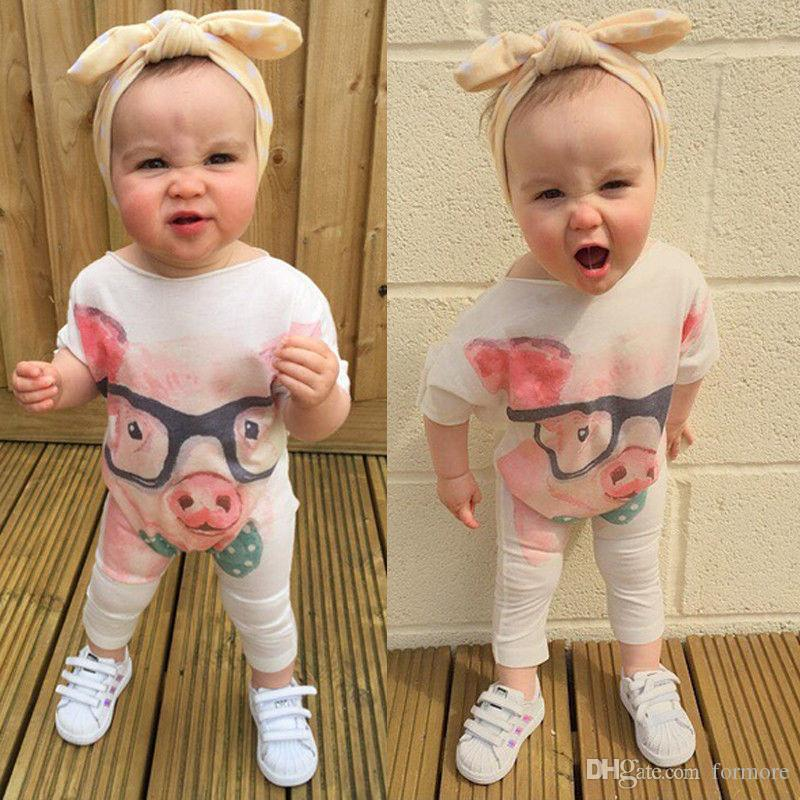 kid famous brand baby romper boutique little girl summer outfit toddler leotards cool infant clothing white maxi onesie playsuit